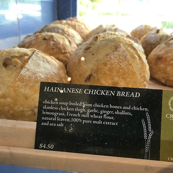 Hainanese Chicken Bread