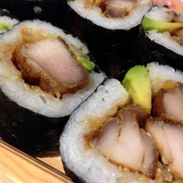 Chicken And Avocado Sushi