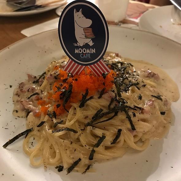 Spaghetti Miso Cream Sauce