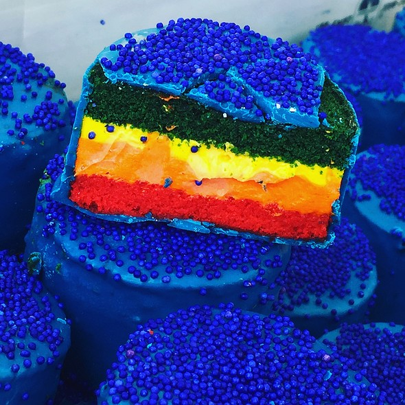 Rainbow Ring Ding @ Ring Ding Bar @ Smorgasburg