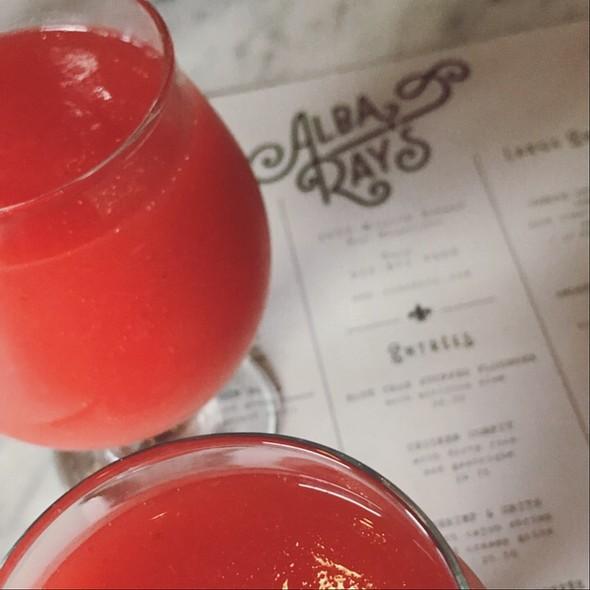 Strawberry Daiquiri @ Alba Ray's