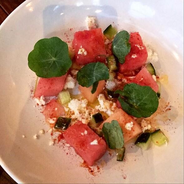 Summer melon Salad @ Hillside Supper Club