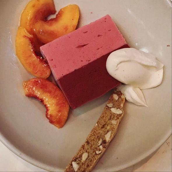 Dessert @ Chez Panisse Café