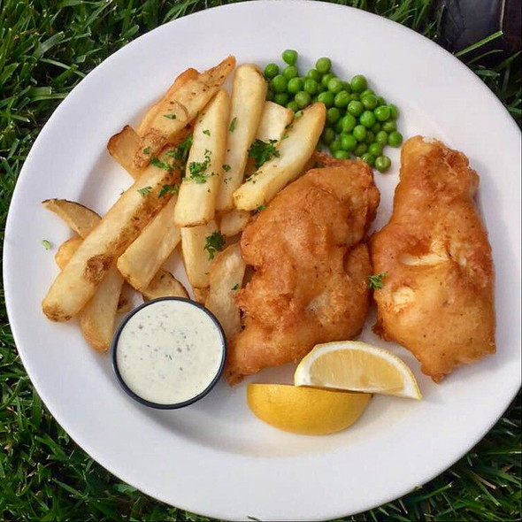 Fish and Chips @ Pelican Inn