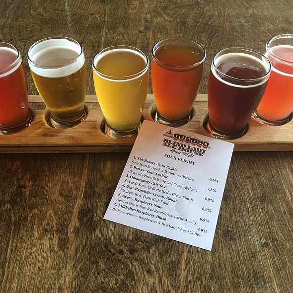 Sour Beer Flight