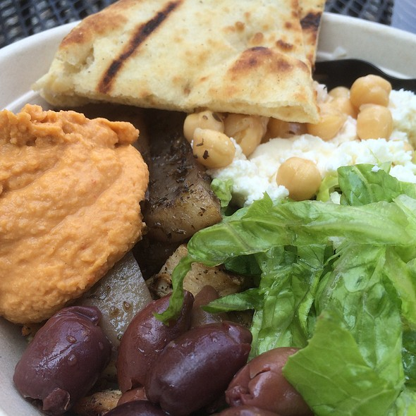 Grilled Chicken Bowl @ The Simple Greek