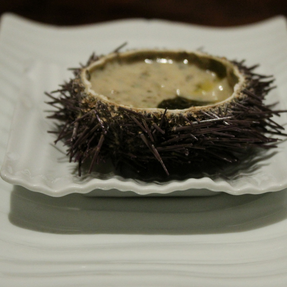 Crema de Erizo con Algas Marinas @ Bar Gaucho