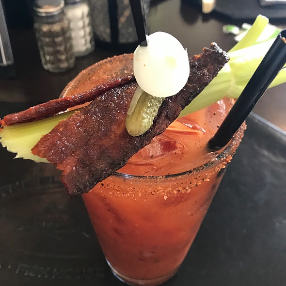 The Best Bloody Mary @ The Black Marlin Bar & Seafood Grill