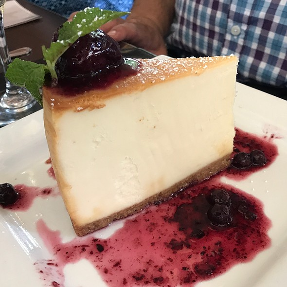 Cheesecake @ The Black Marlin Bar & Seafood Grill