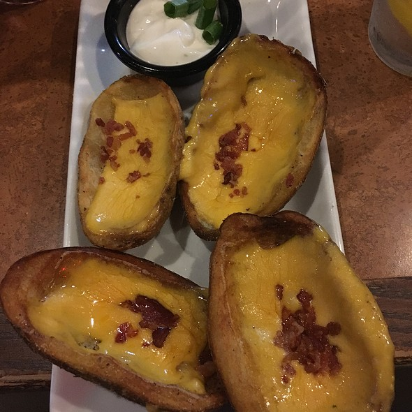 Loaded Potato Skins @ T G I Friday's