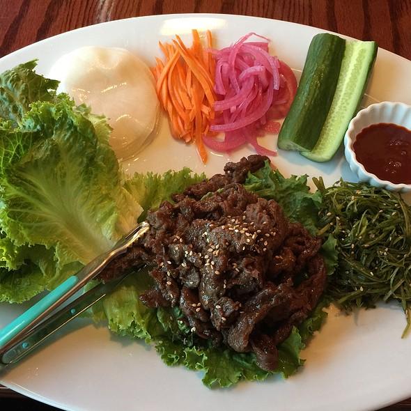 Beef Bulgogi Platter