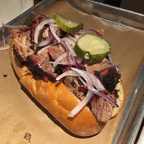 Mr. Beef Sandwich @ Mabel's BBQ