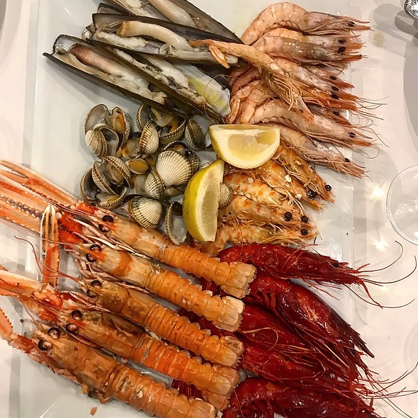 Grilled Seafood @ O Grove