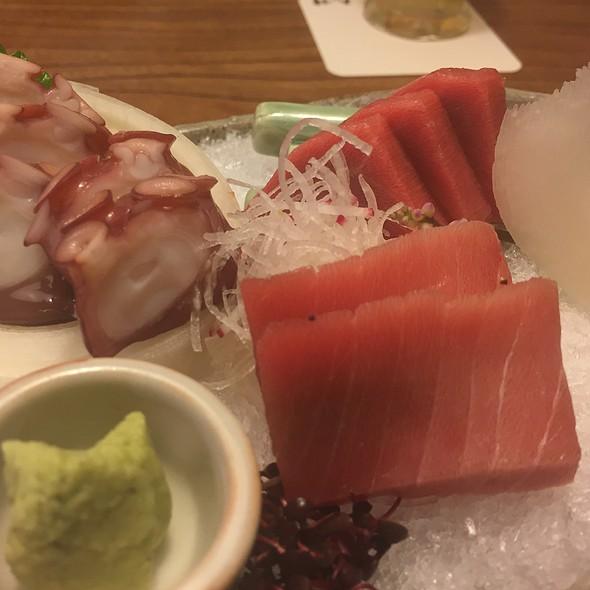 Octpus And Tuna Sashimi @ 丸つ井 (Kokonotsuido) 玉川高島屋店
