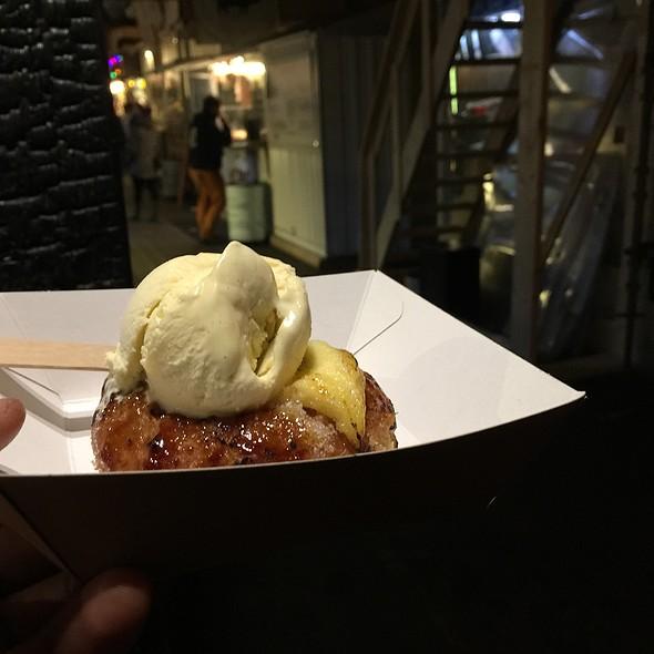 Vanilla Bourbon Creme Brulee Donut