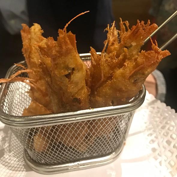 Deep fried prawns @ La Montería