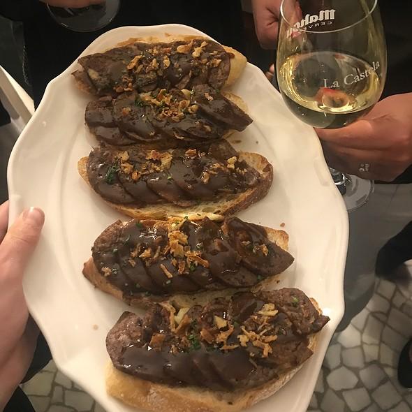 Oxtail Sandwich @ Restaurante Castelados