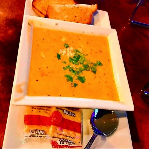 Chicken Gorgonzola Soup @ Pearl Street Pizzeria & Pub