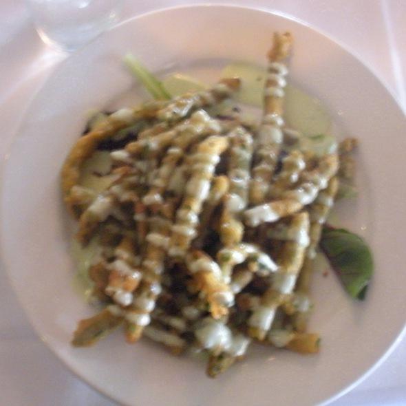 Battered Asparagus Fries @ Knock Restaurant and Bar
