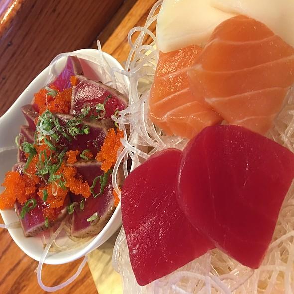 Tuna Tataki & Sashimi