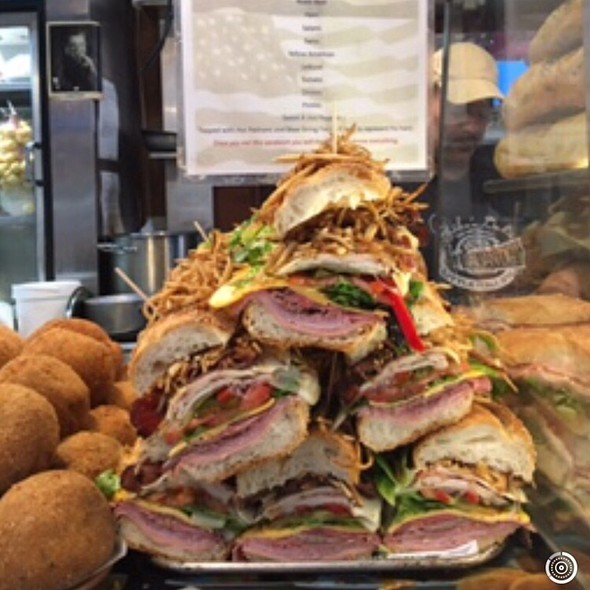 The Trump Sandwich @ Mike's Deli