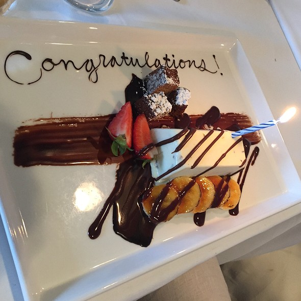 Chocolate Cake @ Roy's-The Inn at Spanish Bay