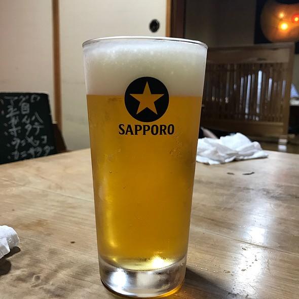 生ビール @ 居酒屋 和