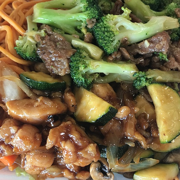 Beef With Broccoli, Mushroom Chicken @ Cathay Chinese Food