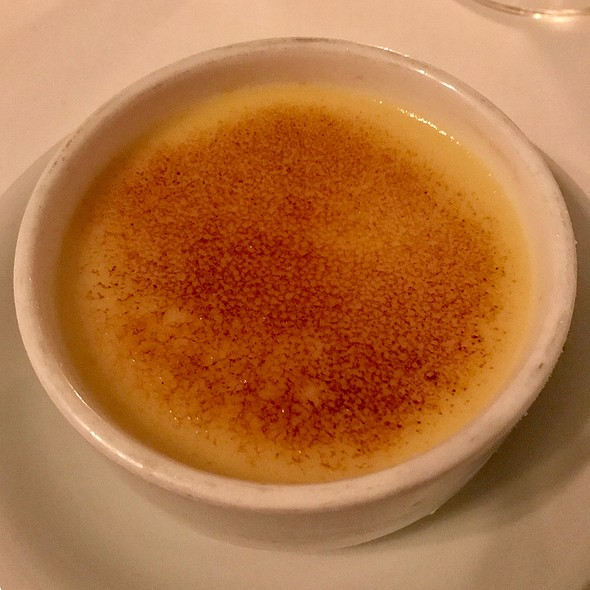 Lemon Ice Box Brulee