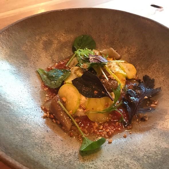 Squash & Eggplant Burrata @ The Progress