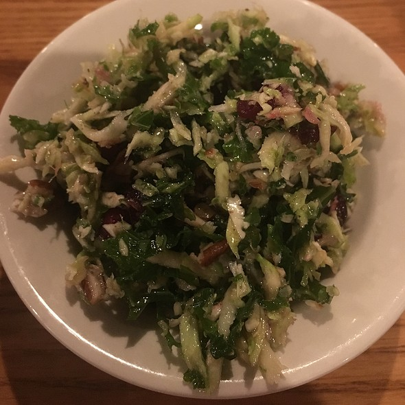 Brussel Sprouts 'N Kale Salad