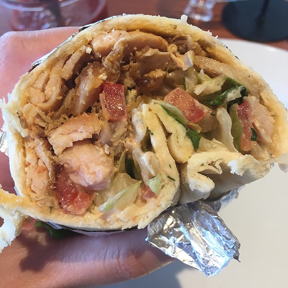Chicken Gyros Wrap