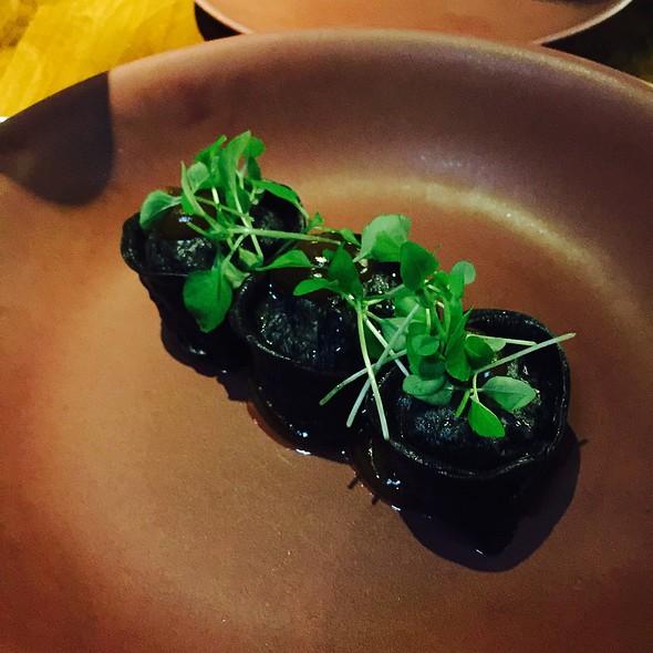 Cuttlefish Dumpling And Black Bean