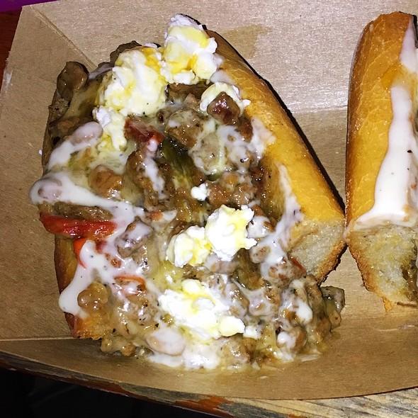 Goat Cheese And Honey Truffle Cheesesteak