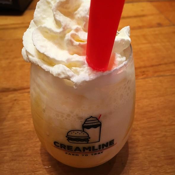 Honey Nut Boozy Milkshake