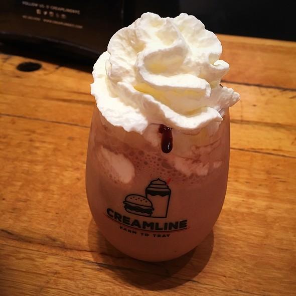Chocolate Spread Boozy Milkshake