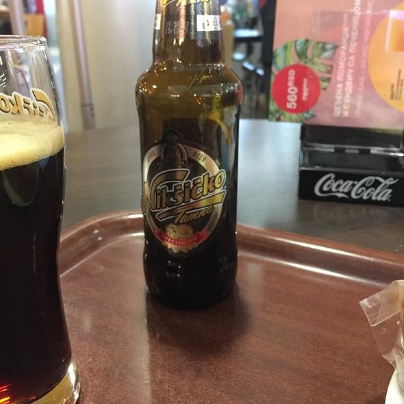 Dark Beer @ Belgrade Airport