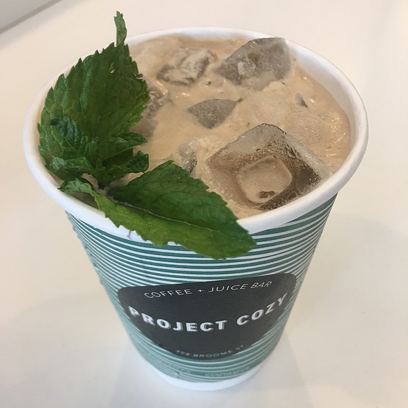 Chocolate Mint Iced Coffee
