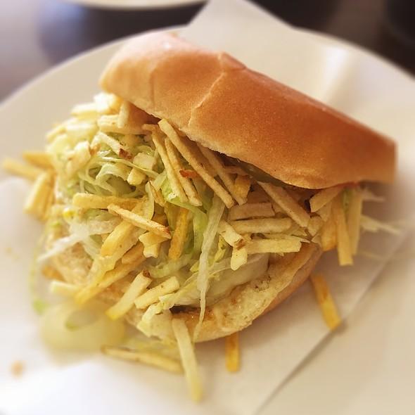 Frita Cubana @ Churros Cafe