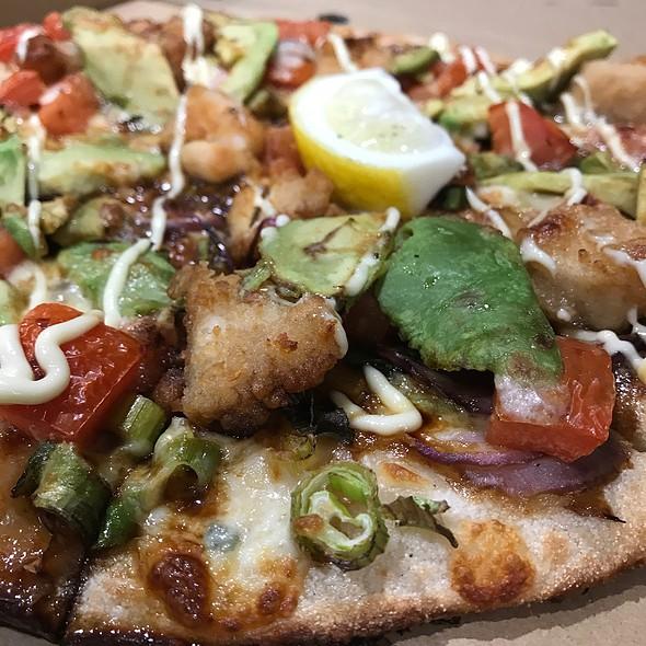 Chicken Karaage Pizza