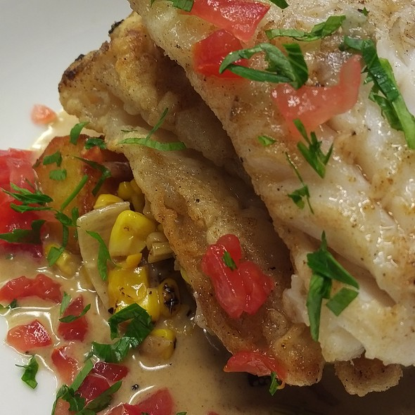 Cod fillet with New England chowder