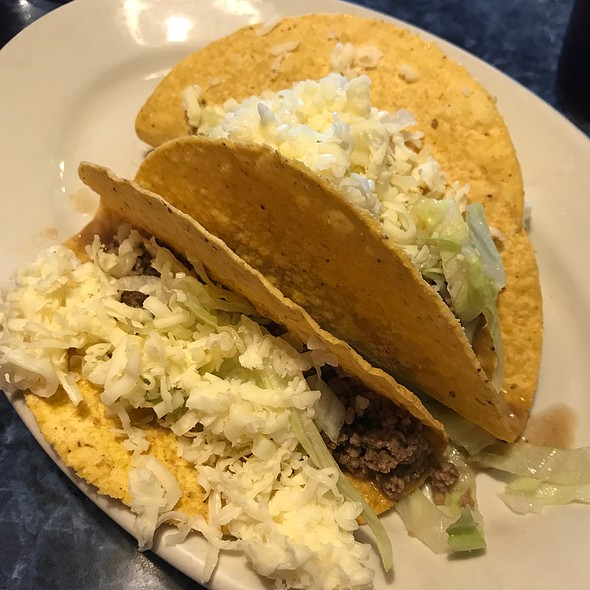 Crispy Beef Tacos @ La Siesta Mexican Restaurant
