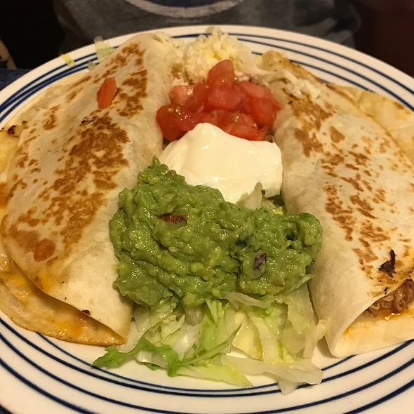 Chicken Quesadillas @ La Siesta Mexican Restaurant