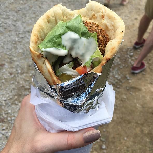 Falafel Wrap @ Jerusalem Cafe @ Ohio Renassaince Festival