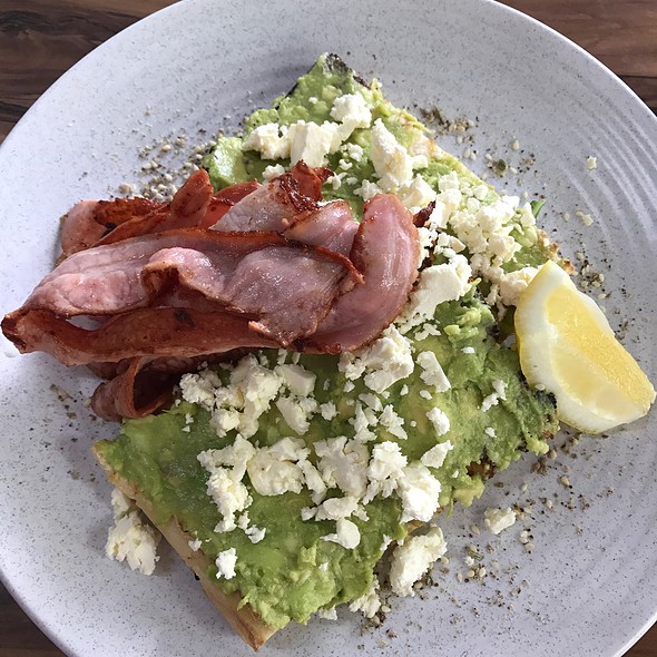 Smashed Avo, Feta, Dukkah And Bacon @ Verrano