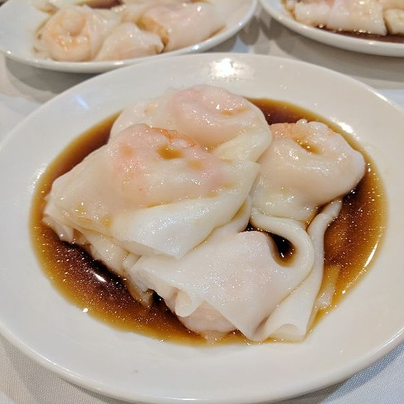 Shrimp Gee Cheung Fun (Shrimp Rice Rolls)