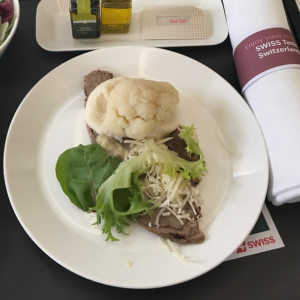 Beef Tenderlion @ Swissair