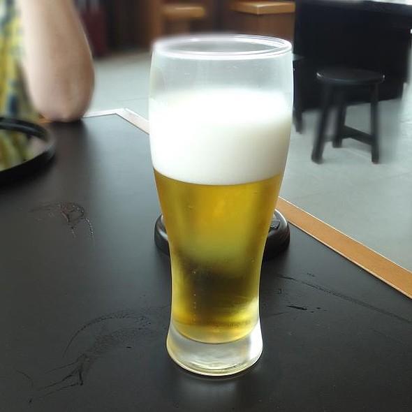 kirin draft beer @ Cathay Pacific Lounge@Haneda