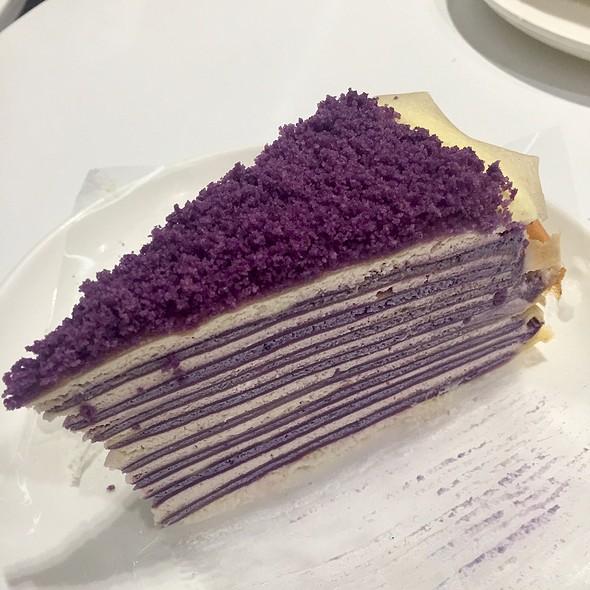 Ube Crepe Cake