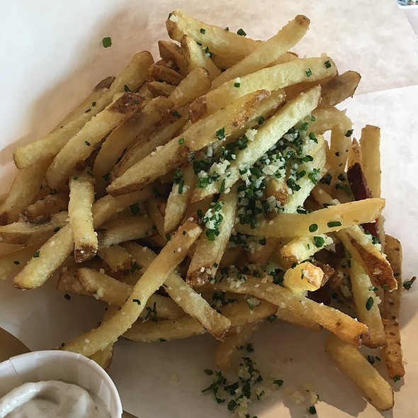 Truffle Fries @ Hopdoddy Burger Bar